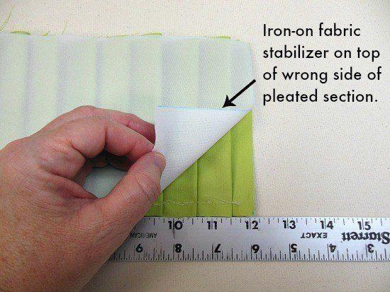 cómo hacer un cojín con telas bonitas