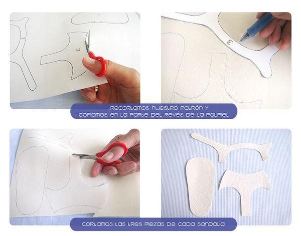ad9ee7c38 Cómo hacer sandalias de bebé fresquitas para este verano
