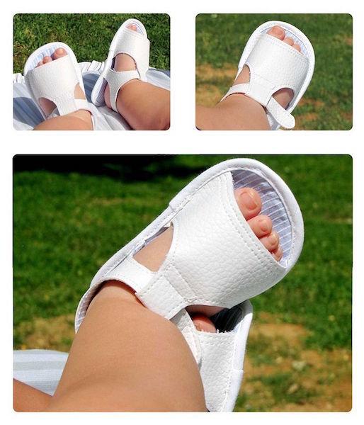 sandalias de bebe paso a paso