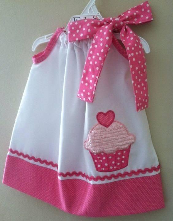 e42b3a0dc Cómo hacer un vestido de niña con lazo