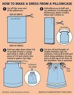hacer un vestido de niña