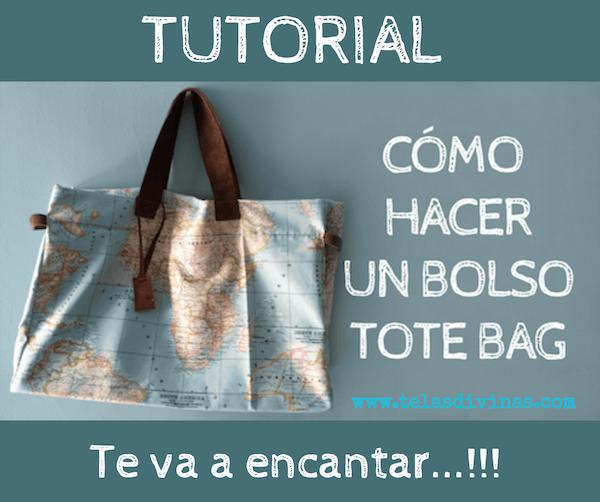 como hacer bolso tote bag