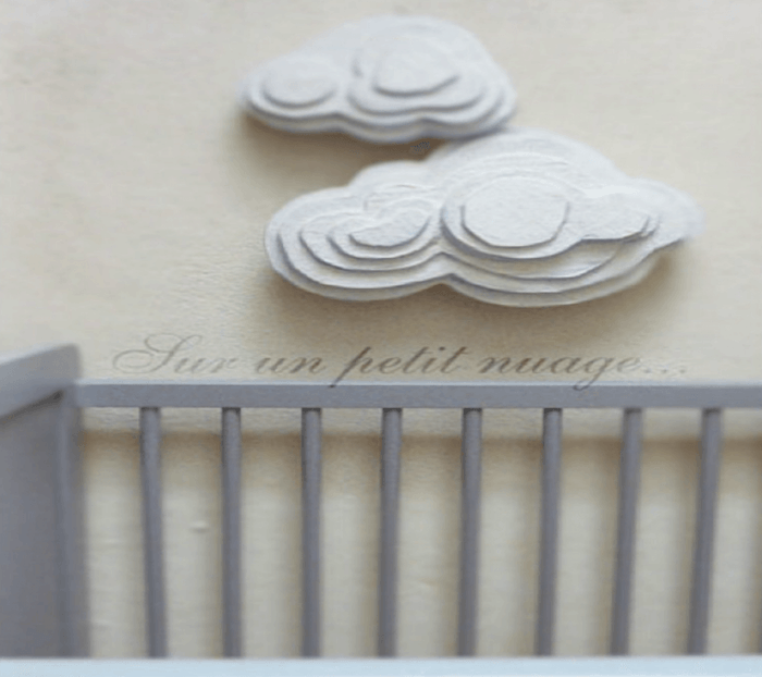 nubes de carton para decorar habitaciones infantiles