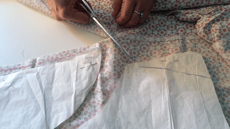 tutorial blusa sin mangas