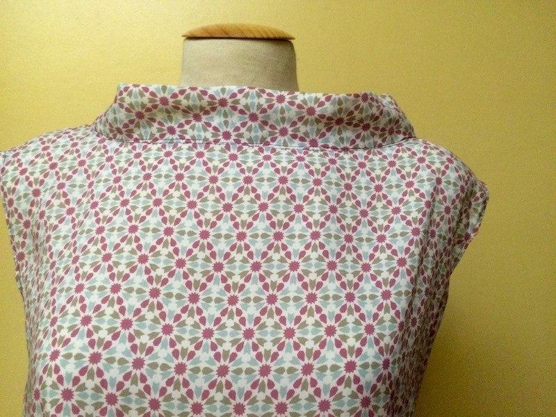 hacer blusa sin mangas