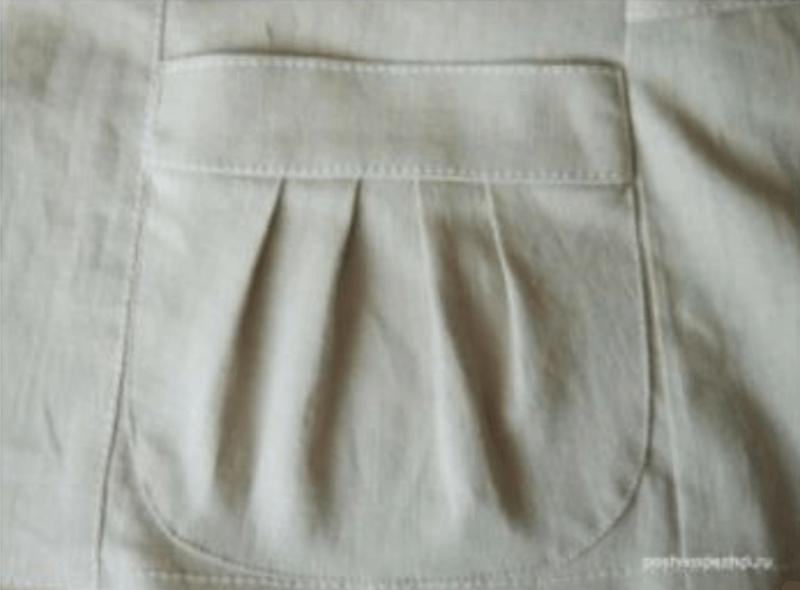 como hacer un bolsillo