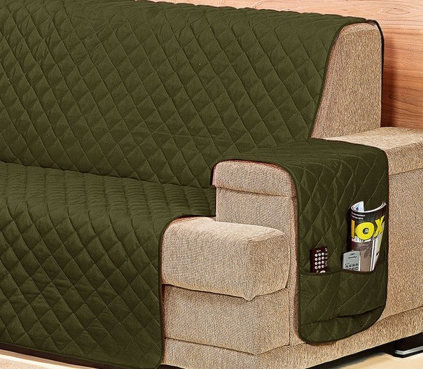 C mo hacer una funda de sof de la medida que - Telas para cubrir sofas ...