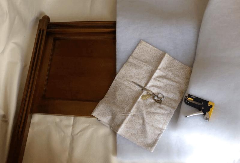 Como Tapizar Un Cabecero Con Tela Descubre Que Facil Estelas - Como-tapizar-cabecero