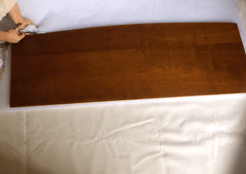 como tapizar un cabecero con tela