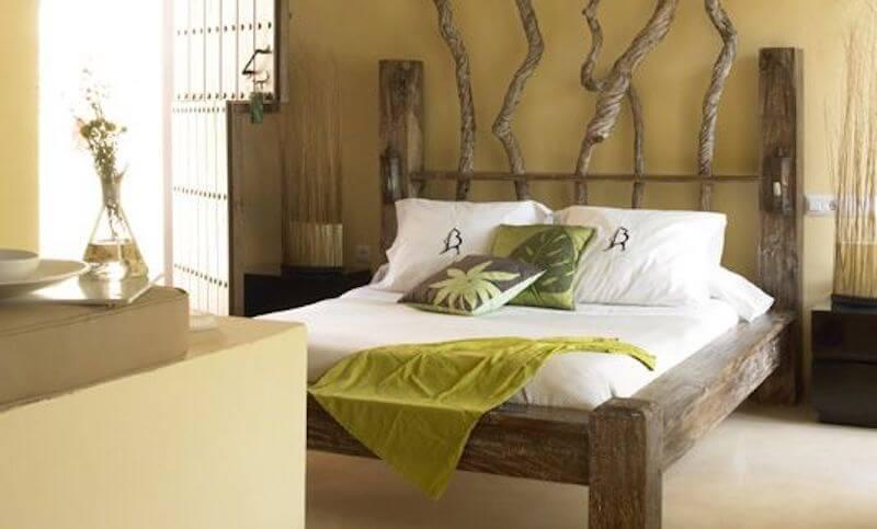 Cabeceros de cama una propuestas diferentestelas divinas - Cuadros cabecera cama ...