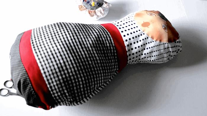 cómo hacer un cojin de matrioska