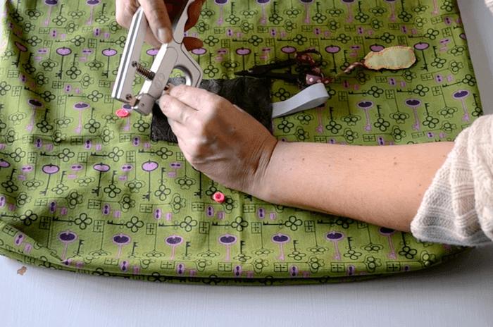 cómo hacer una bolsa plegable