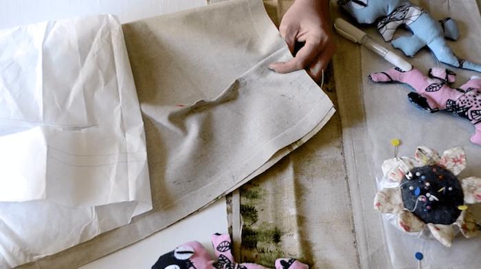cómo hacer una falda de caballos