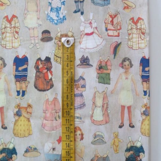 tela estampada infantil mariquitas mini