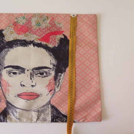 funda cojin frida