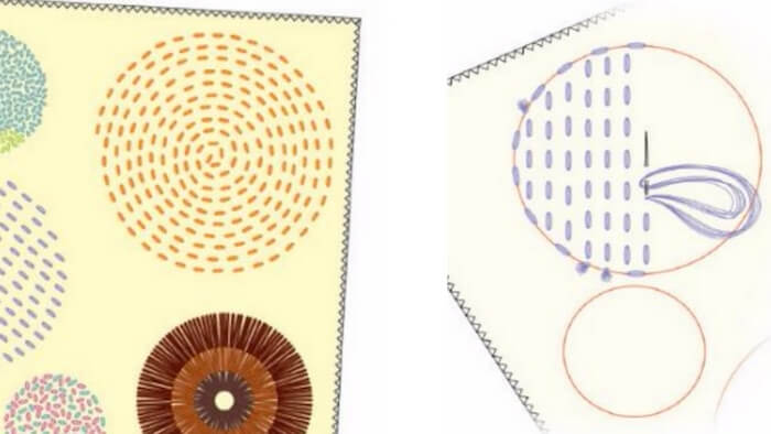hacer cojines bordados