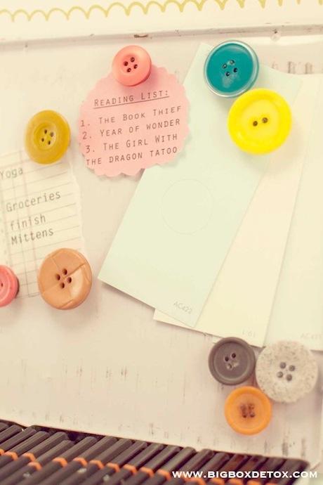 ideas con botones