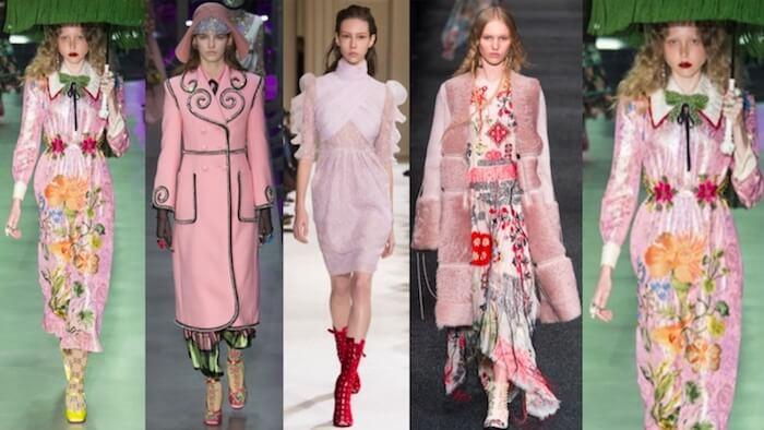 colores de moda otoño invierno 2017 2018