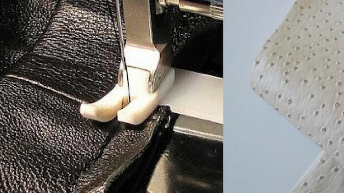 cómo coser polipiel