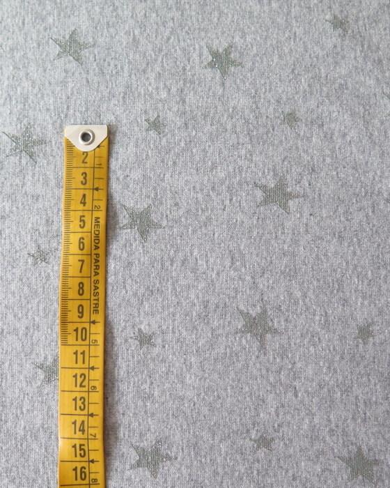 tela sudadera estrellas
