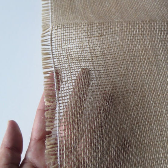 tela de saco transparente