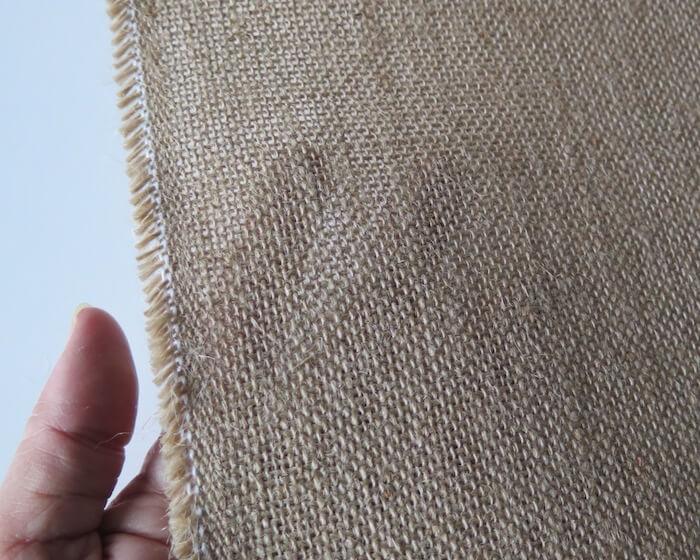 Tela de saco tupida ideal para decoraci n navide atelas - Saco arpillera ...