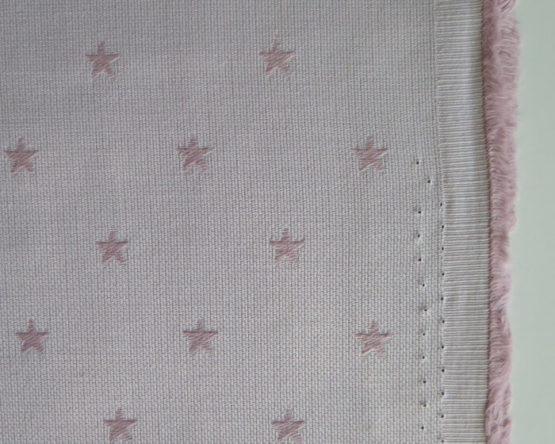 tela jacquard estrellas