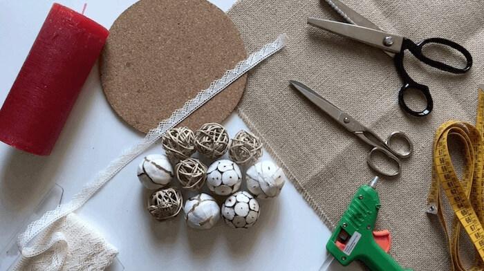 cómo hacer un centro navideño