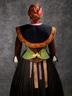 cintas de seda natural para trajes regionales