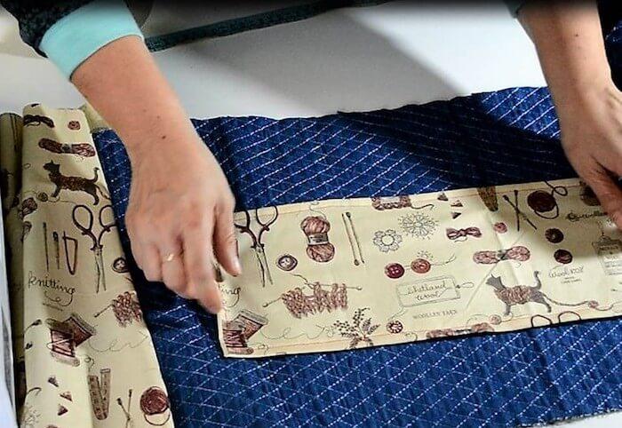 cómo hacer una bolsa de labores