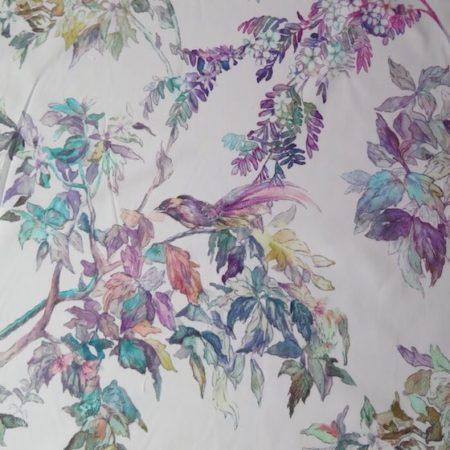 tela estampada ramas