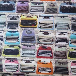 tela vintage maquinas escribir