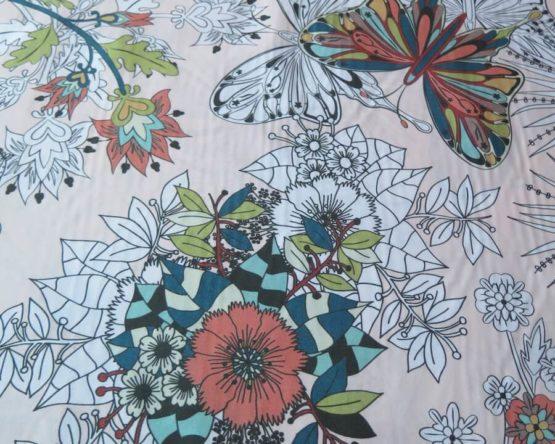tela estampada floralia