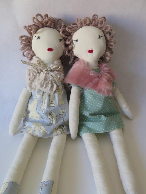 muñecas de tela maritela