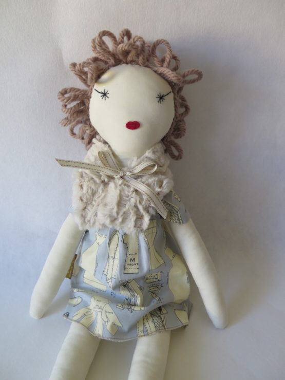muñeca de tela maritela
