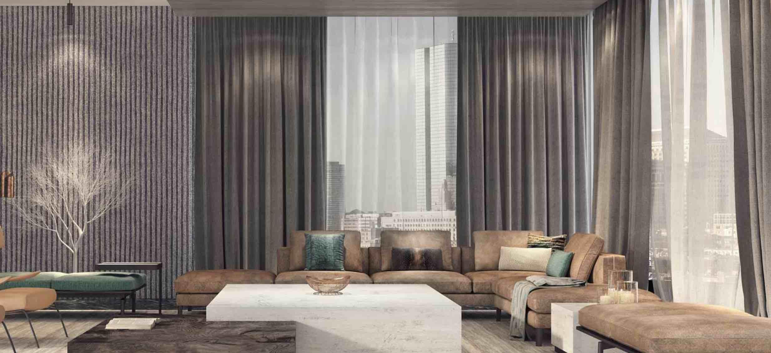 cortinas para decorar las ventanas