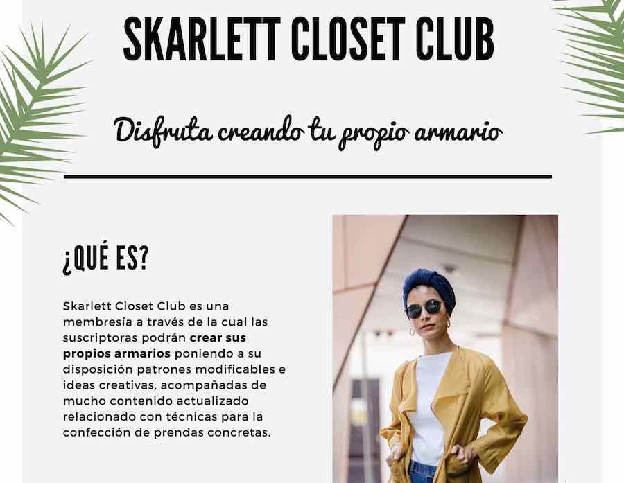 scarlett closet club